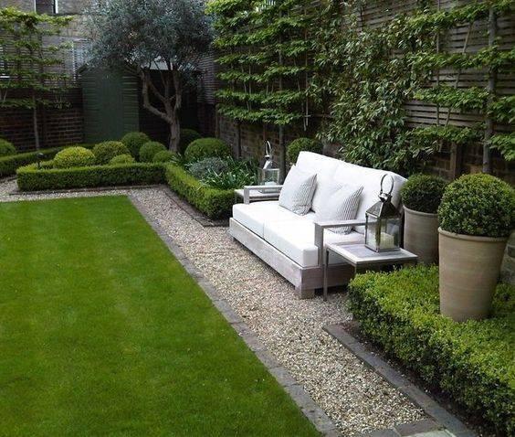 Ландшафтный дизайн маленького двора частного дома + фото