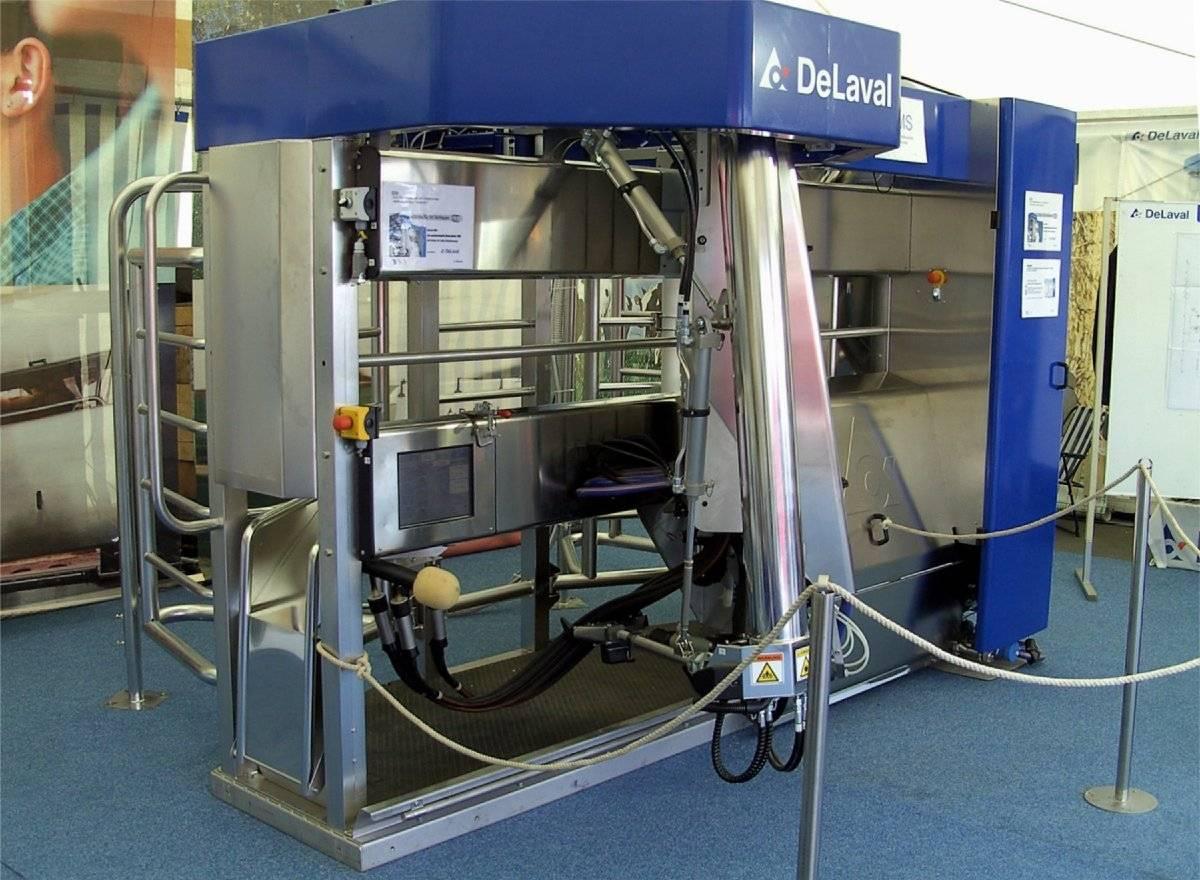 Доильный аппарат для коров Делаваль