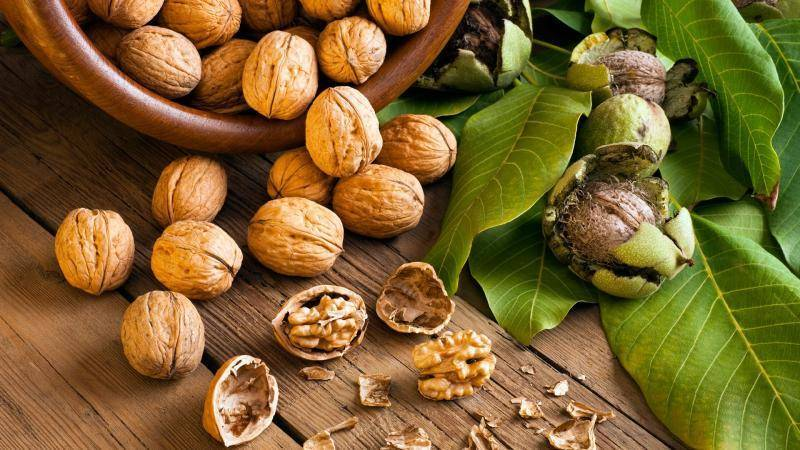 Как мыть очищенные грецкие орехи