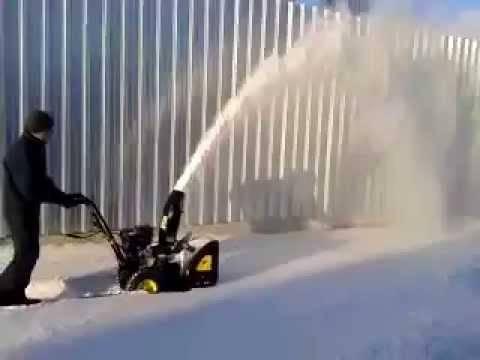 Бензиновый снегоуборщик Huter sgc 4000