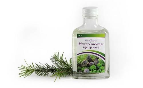 Лечение остеохондроза пихтовым маслом