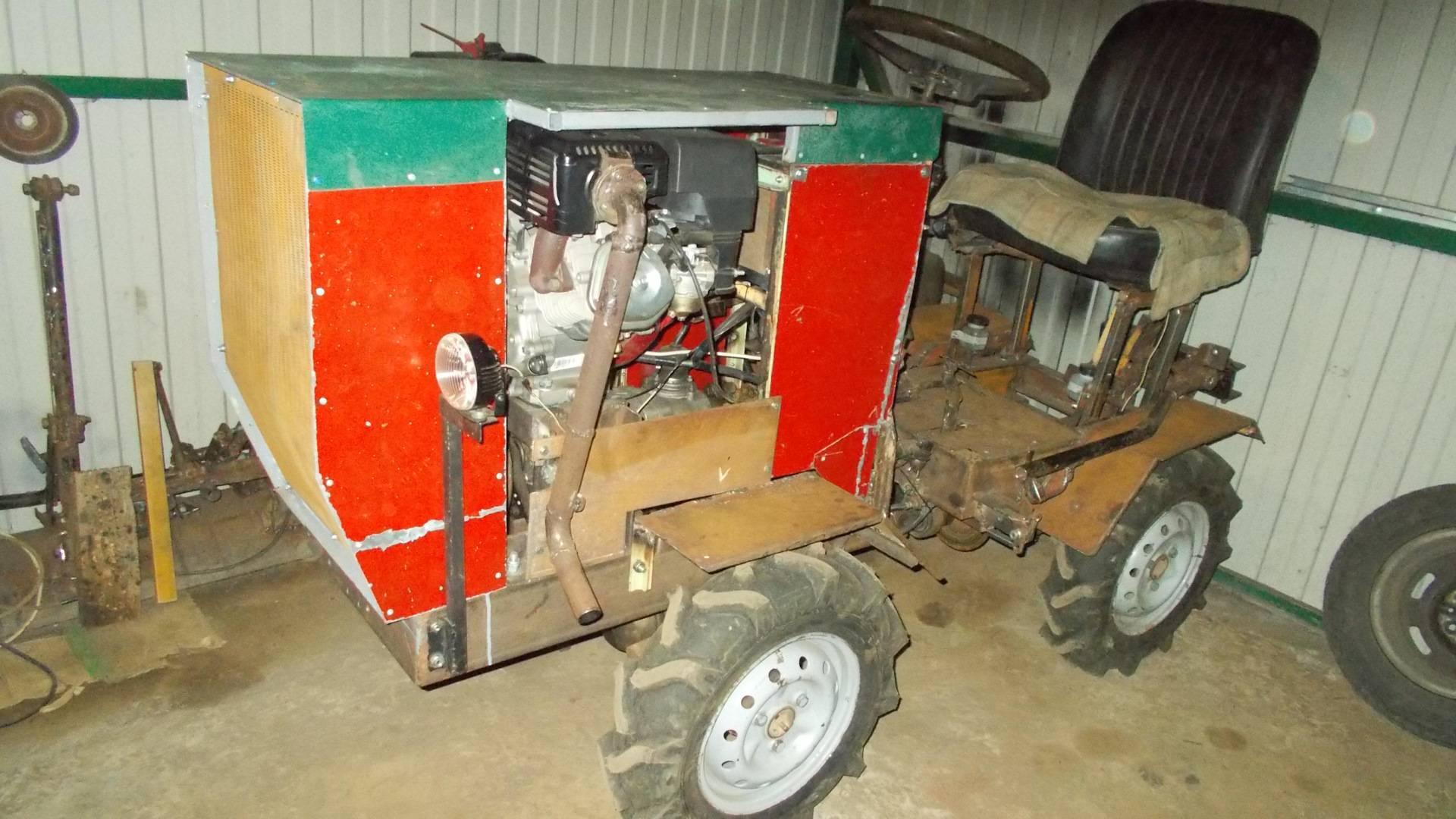Мини трактора самодельные с ломающейся рамой