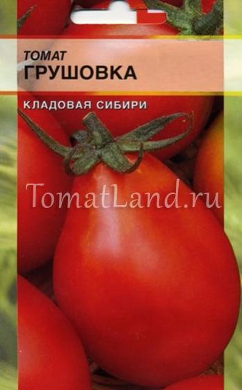 Характеристика и описание сорта томата грушовка, его урожайность