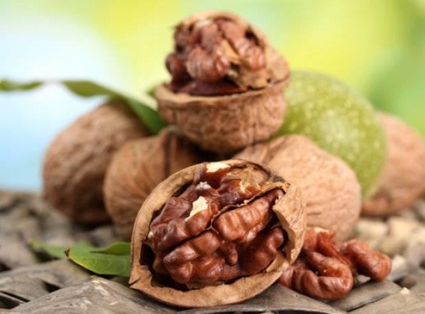 Применение перегородок грецких орехов в народной медицине