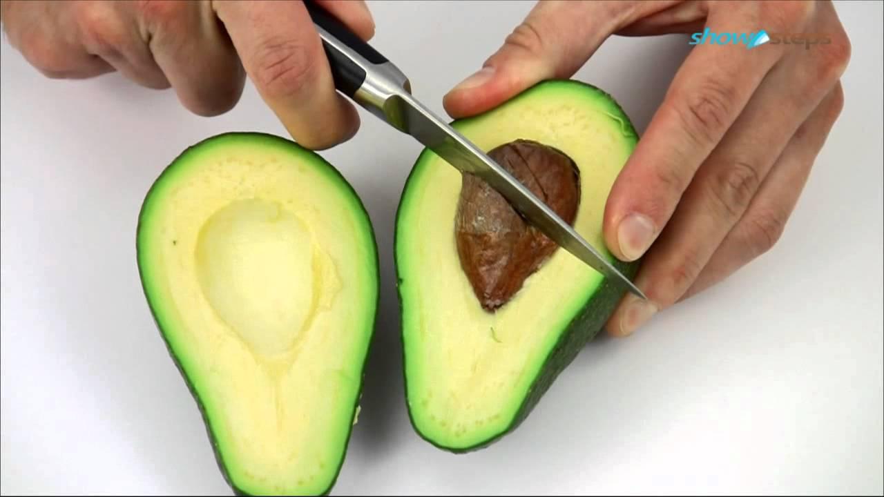Как почистить авокадо и разрезать в домашних условиях
