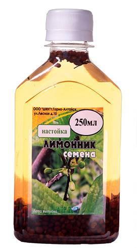 Настойка лимонника китайского. применение и противопоказания. инструкция по применению