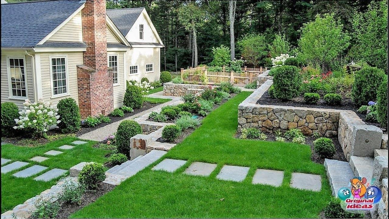 75 современных идей дизайна двора частного дома