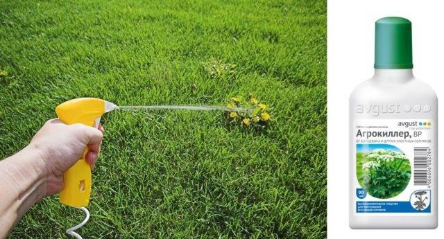 Агрокиллер от сорняков инструкция по применению