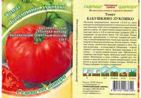 Томат «бабушкино лукошко»: один из лучших сортов для выращивания в теплице