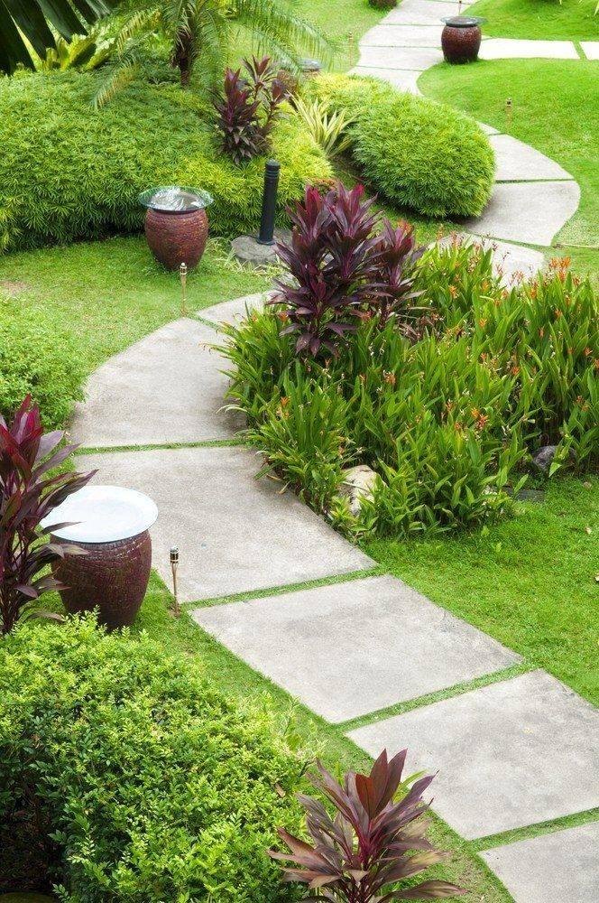 Как сделать садовую дорожку на даче своими руками
