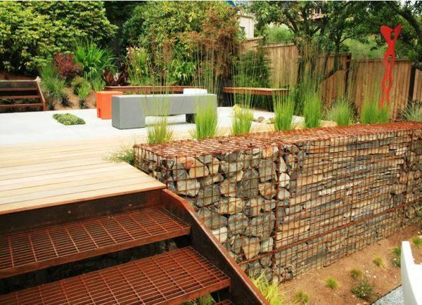 Подпорные стенки: виды и строительство