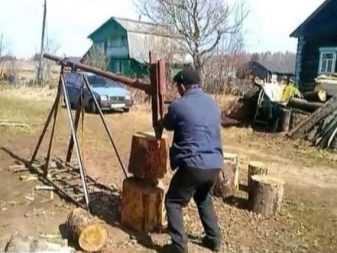 Как сделать дровокол своими руками: чертежи, фото, инструкции