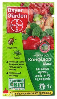 Инсектицид конфидор: инструкция по применению для растений