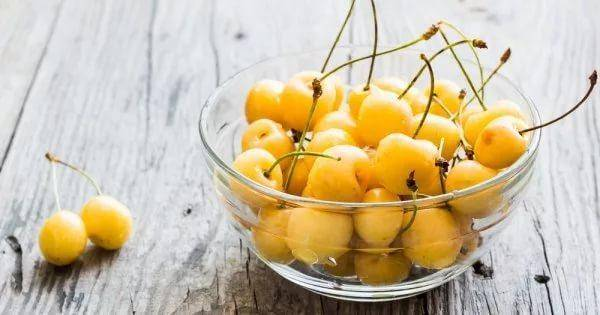 Желтая черешня — выбор сорта, особенности ухода и самые распространенные варианты приготовления (105 фото)
