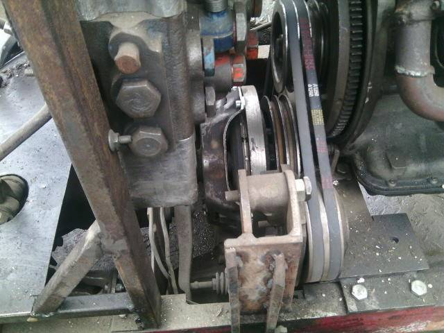 Самодельный минитрактор-переломка 4х4