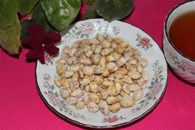 Арахис в сахаре в домашних условиях
