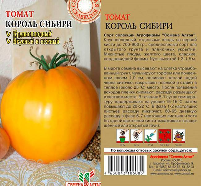 Томат «гордость сибири». описание сорта — характеристика урожайности и агротехника посадки, ухода и выращивания помидора (фото)