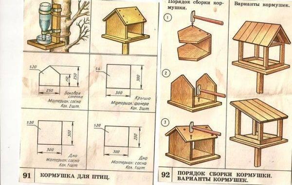 Как сделать кормушку для кур своими руками - 10 лучших вариантов!