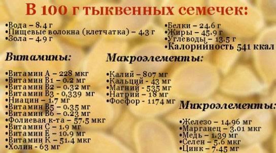Можно ли есть семена тыквы при панкреатите
