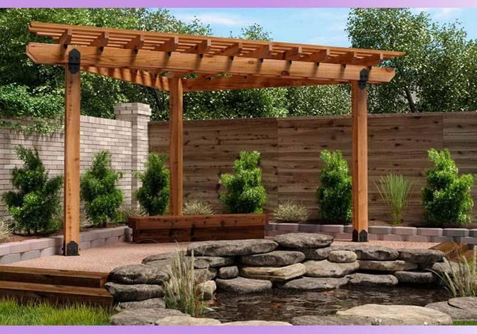 Пергола: виды и функции конструкции, подходящие растения, декоративная роль в ландшафтном дизайне, советы специалистов