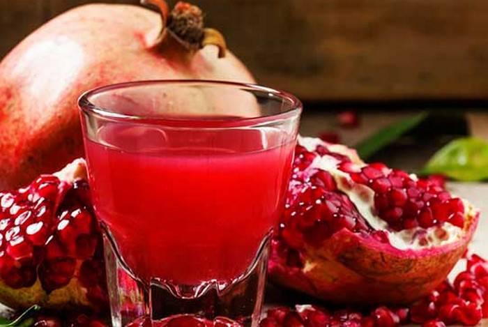 Как гранатовый сок воздействует на давление: повышает или понижает?