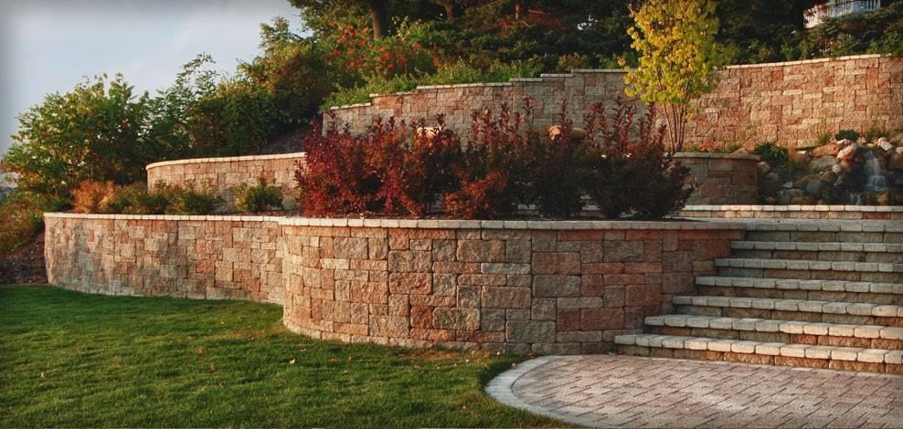 Подпорные стенки в создании ландшафтного дизайна