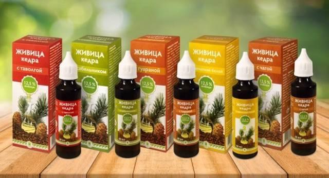 Кедровое масло и живица – лечебные свойства и противопоказания