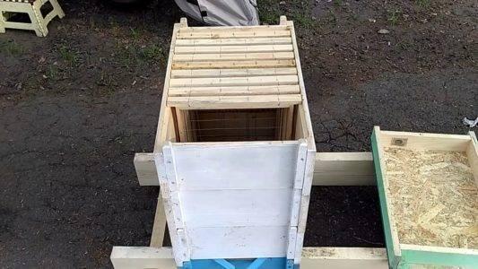 Омшаник для пчел: как сделать своими руками?