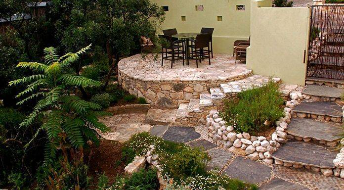 Современные красивые дворики: ландшафтный дизайн вокруг частного дома