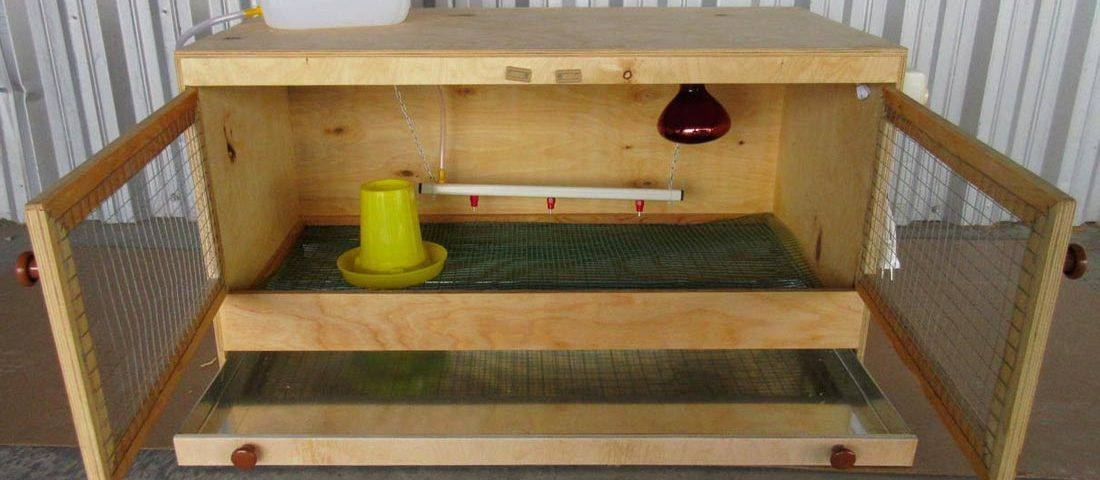 Изготовление брудера для перепелов