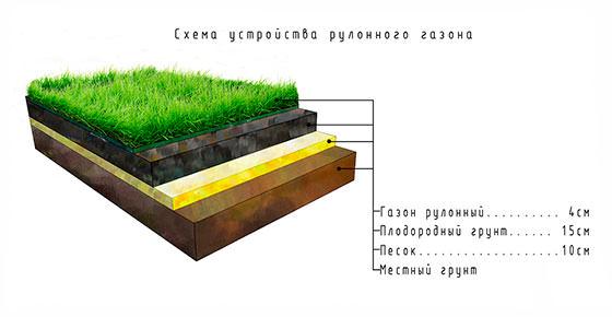 Искусственный газон: процедура укладки с фото