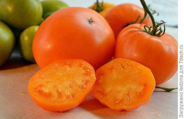 Томат «оранжевое сердце»: урожайность, характеристика и уход
