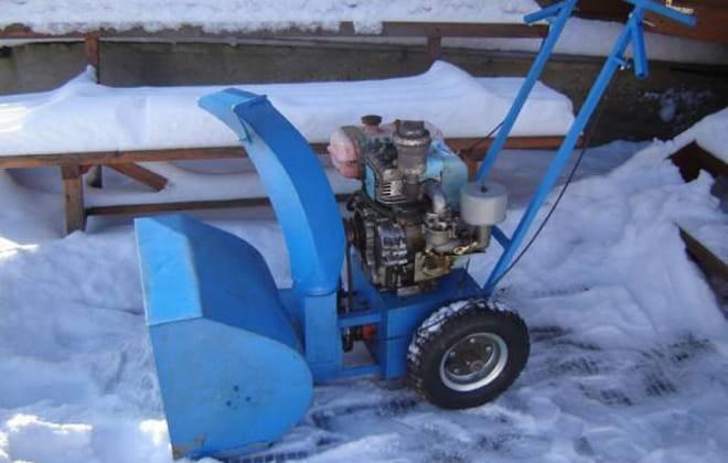 Снегоуборочная машина своими руками: функциональная техника из простых инструментов