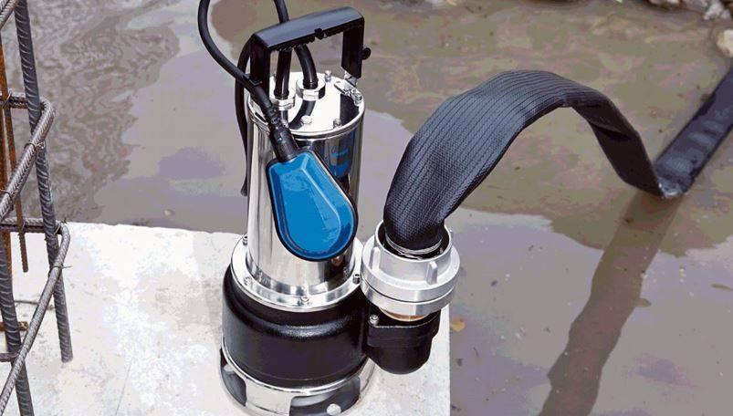 Насос дренажный погружной для грязной воды