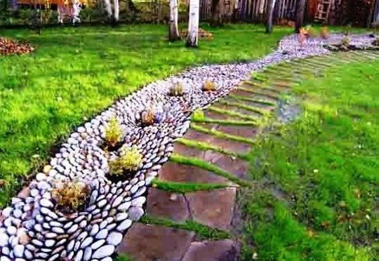 Сухой ручей – варианты красивого оформления и советы по подбору стиля в ландшафтном дизайне