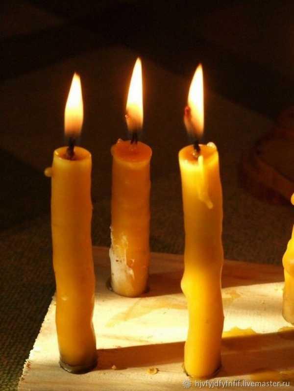 Свечи из воска своими руками: мастер-класс с видео