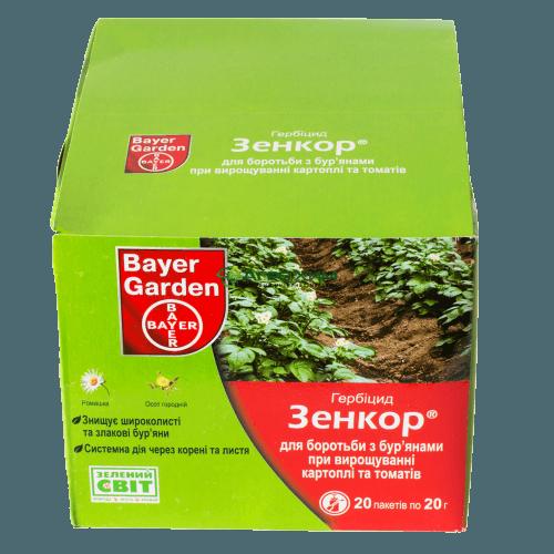 Гербицид «зенкор» — инструкция по применению против сорняков