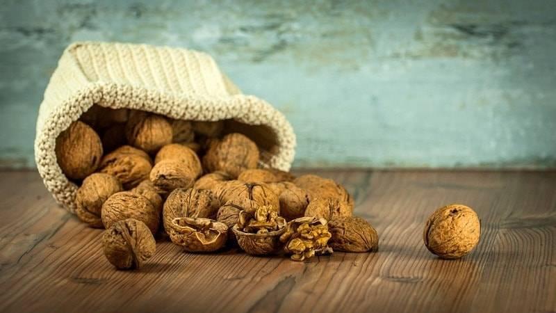Как дома нужно сушить грецкие орехи?