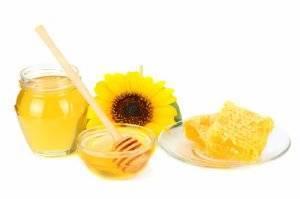 Мед из подсолнуха с уникальными составом