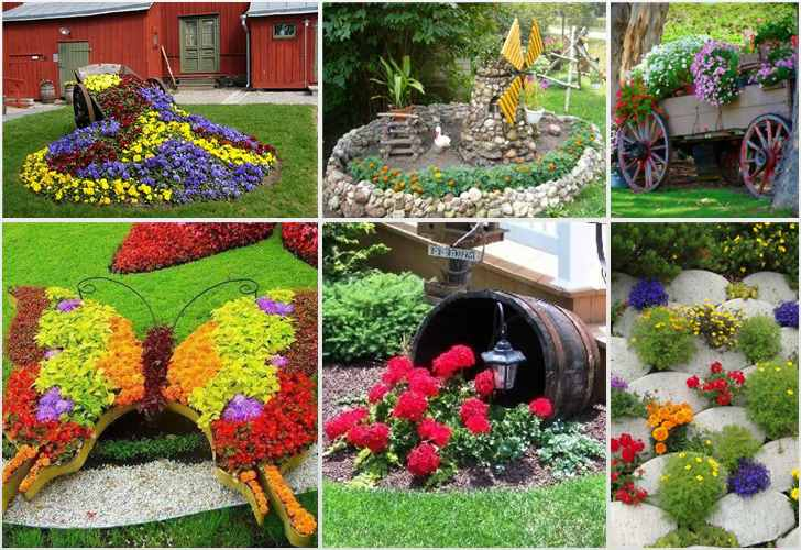 Создание цветника – одна из форм творческого самовыражения
