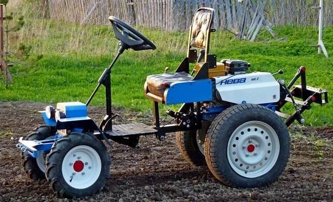 Как переоборудовать мотоблок в мини-трактор