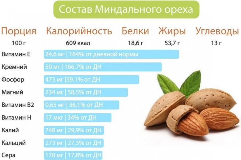 """""""миндальный орех — польза и вред, свойства и тонкости применения"""""""
