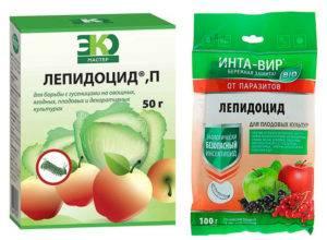 Лепидоцид — эффективный препарат против листогрызущих вредителей