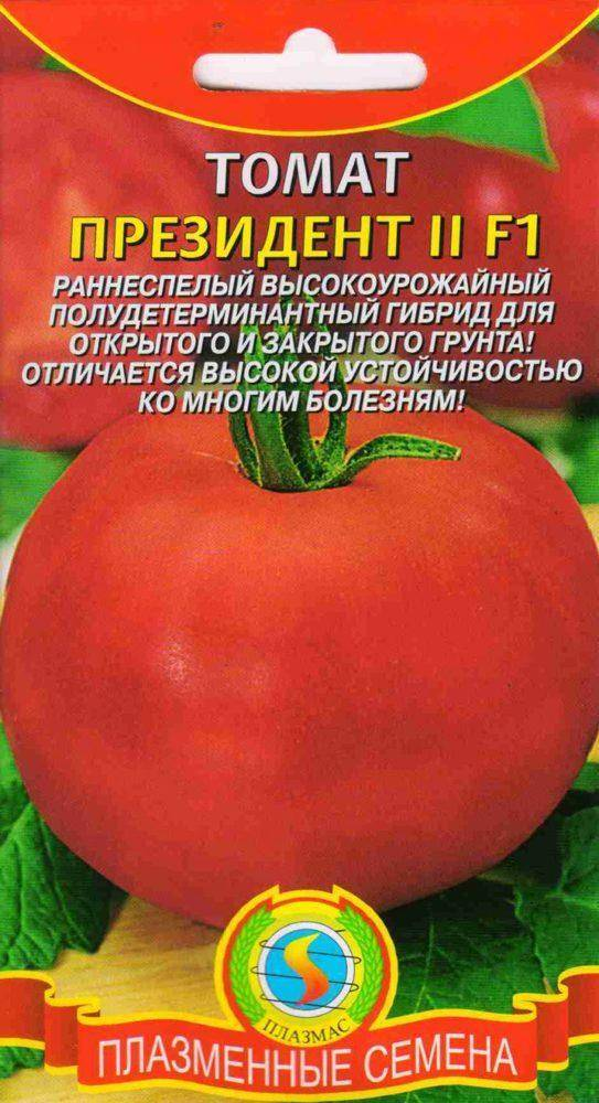 Характеристика и описание томата сорта президент f1