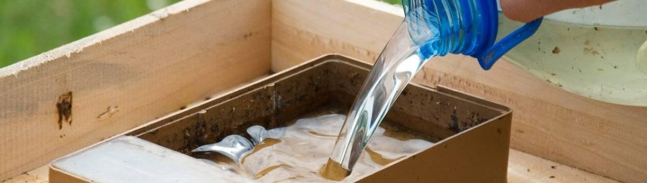 Сахарный сироп для пчел, пропорции приготовления | практическое пчеловодство