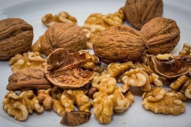 Можно ли есть грецкие орехи при грудном вскармливании