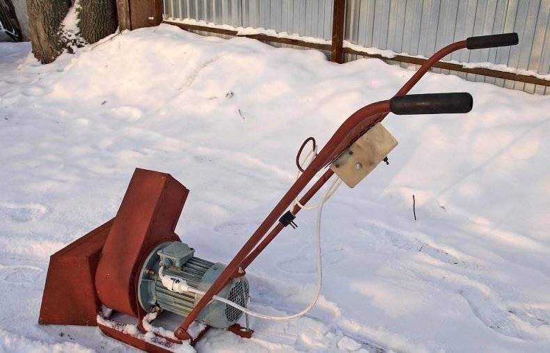 Самодельный шнековый снегоуборщик своими руками + чертежи