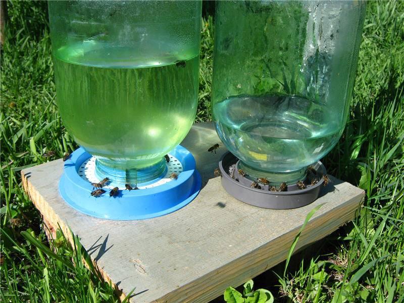 Изготовление поилок для пчел