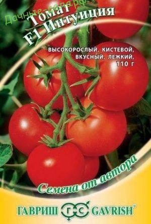 Характеристика урожайного томата интуиция и отзывы аграриев
