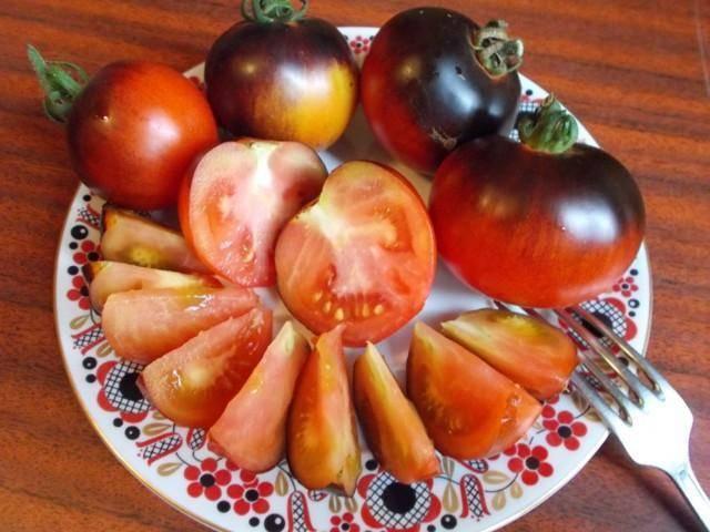 Удивите свою семью помидорами черный принц